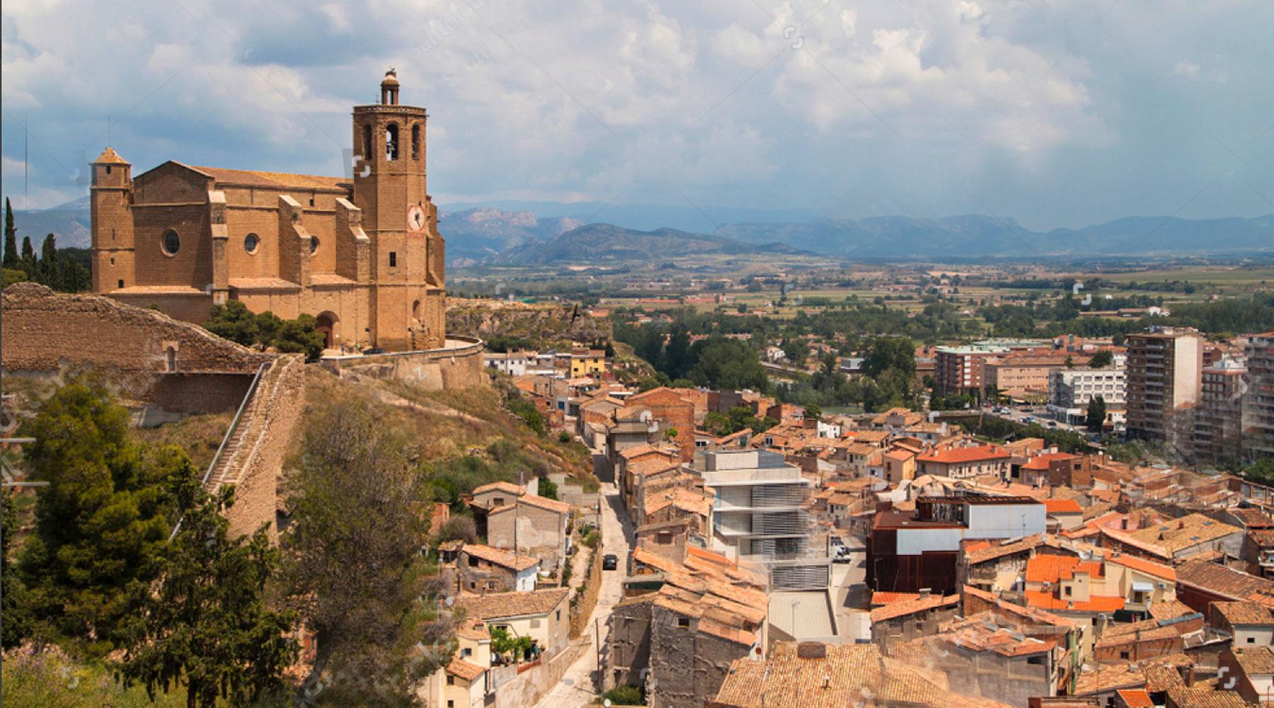 City Of Balaguer. Lo Palauet De La Muralla