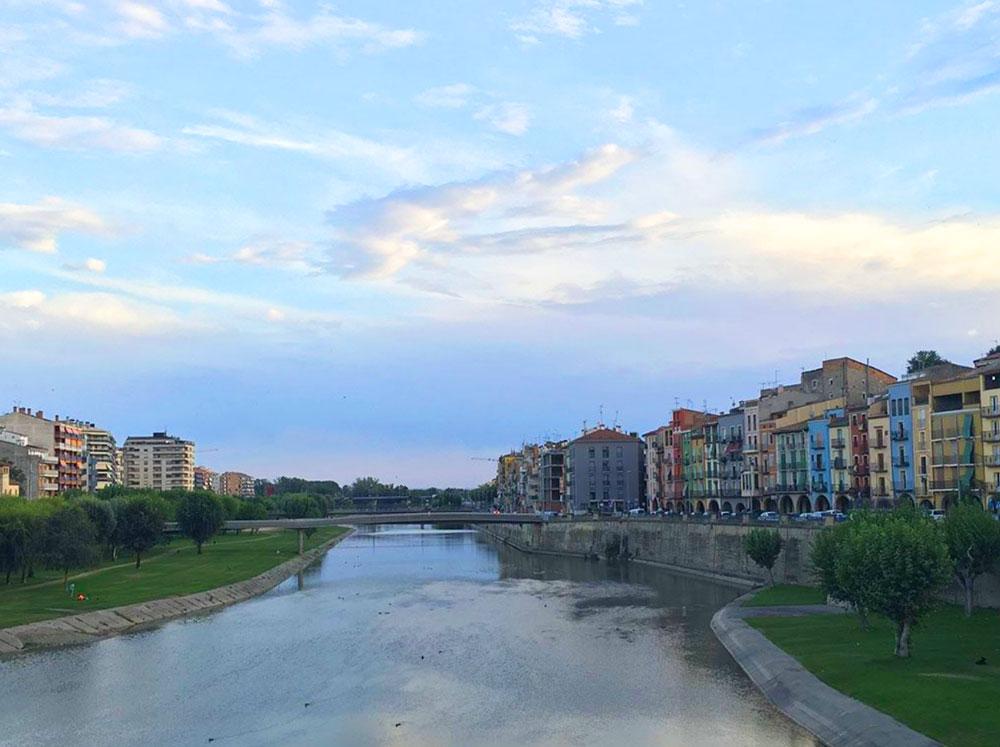Riu Segre a Balaguer - Inici